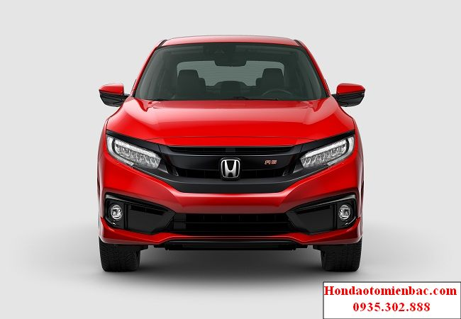 Mat truoc Honda Civic RS 2019 result